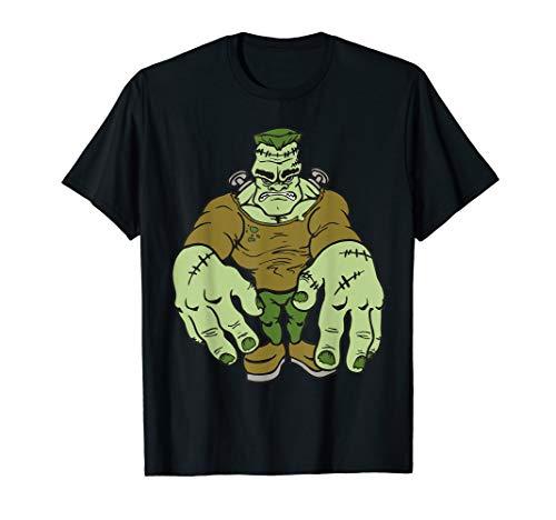 Kostüm Frankenstein Katze - Frankenstein Zombie Horror Halloween T-Shirt
