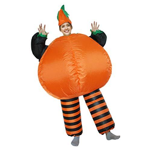 LOVEPET Aufblasbare Halloween Kürbis Kostüm, Parodie Party Big Fat Kostüm, Maskerade Kostüm, Bühne Prop Kostüm