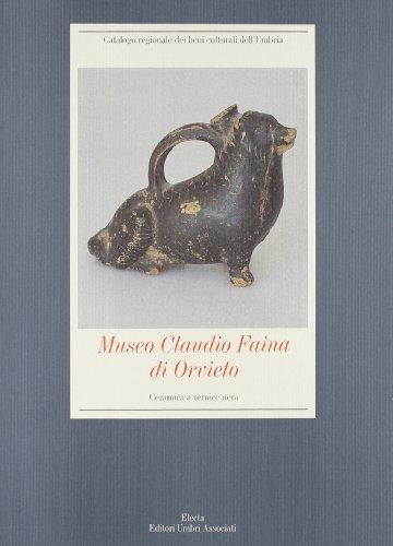 Museo Claudio Faina DI Orvieto: Ceramica a Vernice Nera -