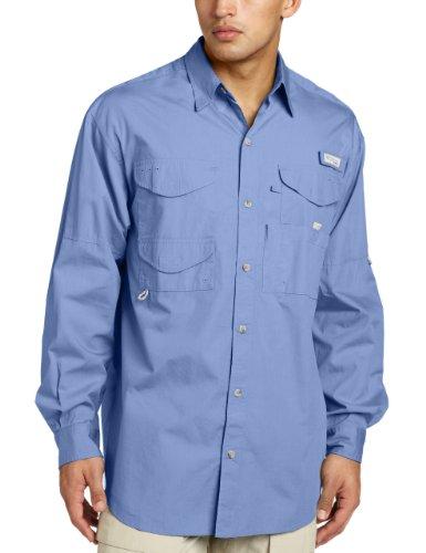 Columbia Herren Bonehead Langarm T-Shirt Angeln (weiße Kappe, 4 XT) (Shirt Bonehead Herren Angeln)