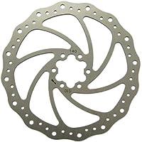 MSC Bikes Steel 160 mm. 1.8 mm - Disco de freno de ciclismo, color acero