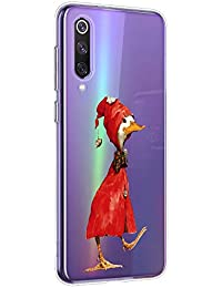 Oihxse Funda para Xiaomi Redmi Note 8 Transparente, Estuche con Xiaomi Redmi Note 8 Ultra-Delgado Silicona TPU Suave Protectora Carcasa Océano Animal Serie Bumper (C6)