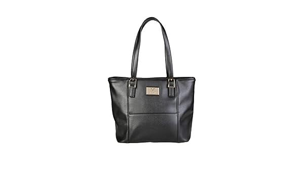 cf33e62a8916 Versace V1969 Saffiano Eco-Leather Shoulder Bag Fashion Shoulder Tote  Handbag  Amazon.co.uk  Shoes   Bags