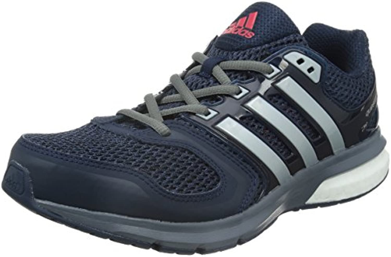Adidas Questar Boost M - conavy/silvmt/vivred, Größe Adidas:8 -