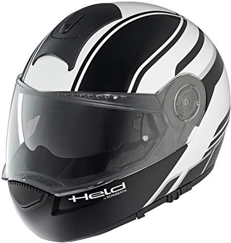 Held by Schuberth Helmet H-C3 Trip Black/White M
