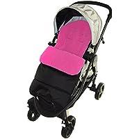 Saco/Cosy Toes Compatible con venicci viaje carrito de bebé, color rosa
