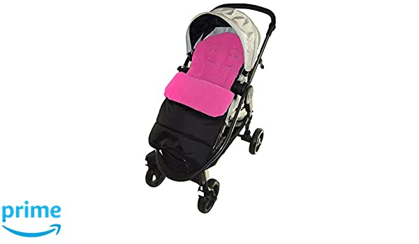 Footmuff//Cosy Toes Compatible with Jane Crosswalk Pushchair Pink Rose