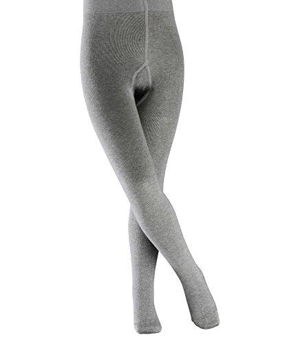 falke kinderstrumpfhosen Falke Mädchen Strickstrumpfhose, grau (light grey 3400), 134-146, 1er Pack