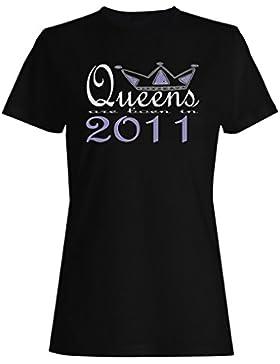 Nuevas reinas de diseño artístico nacen en 2011 camiseta de las mujeres b647f