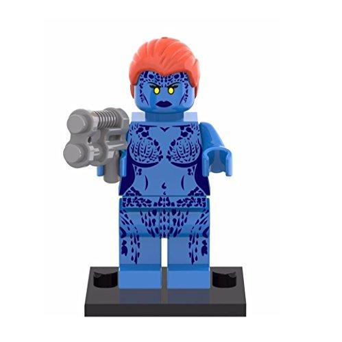 nido-del-bimbo-1222-marvel-x-men-mystica-minifigure-compatibile-lego-altezza-43-cm