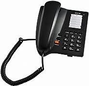 Alfacom 203  Kablolu telefon, Siyah