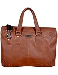 ARNOLD TAN Laptop Office Bag Adjustable Light Weight & Stylish Unisex Bags