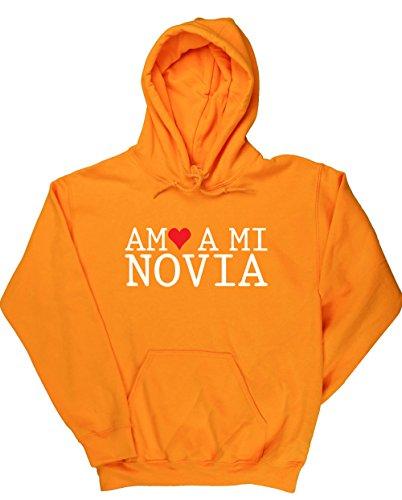 HippoWarehouse Amo A Mi Novia jersey sudadera con capucha suéter derportiva unisex
