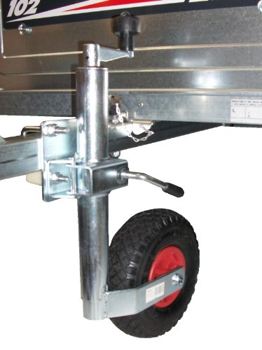 LMX1591 leisure MART Trailer caravan Jockey Wheel 34mm and split clamp with FIXING KIT Pt no