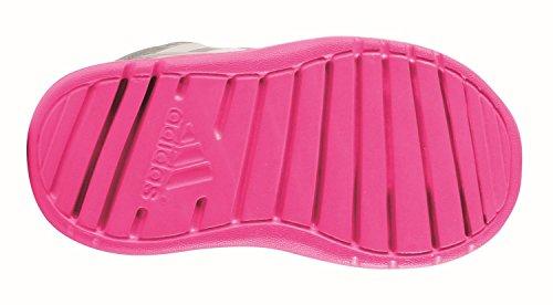 adidas Unisex-Kinder AltaRun CF I Gymnastikschuhe, Grau Grigio (Grimed/Ftwbla/Rosimp)