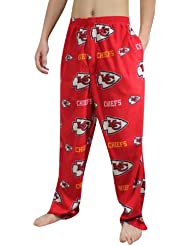 NFL Kansas City Chiefs Homme Polar Fleece Sleepwear / Pajama Pants