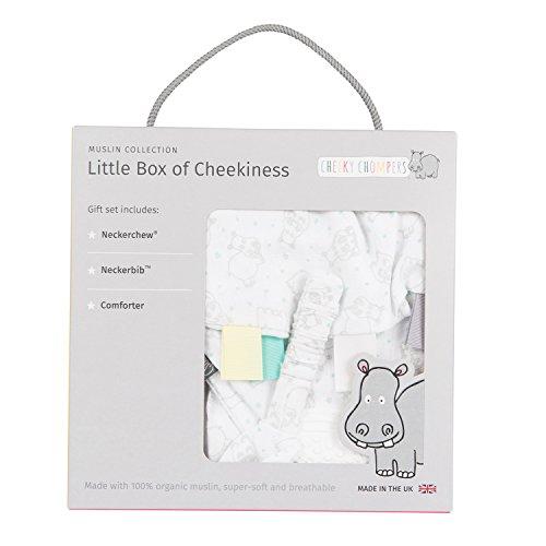 Cheeky Chompers cc771146 regalo ebox – Hippo, color blanco