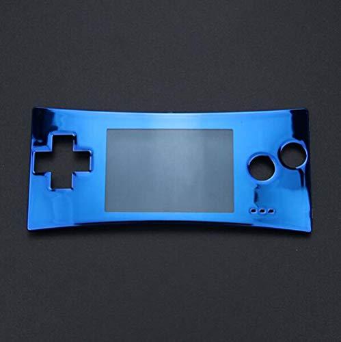 Ersatz-Gehäuse für GBM Gameboy Micro System Frontgehäuse (blau) (Boy-system Game)