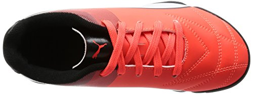 Puma Adreno Ii Tt Jr, Chaussures de Football Compétition Mixte Enfant Rouge - Rot (Red blast-puma white-puma Black 07)
