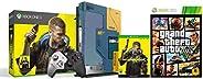 Xbox One X Cyberpunk 2077 Limited Edition Bundle (1TB)&Grand Theft Auto V (Xbox
