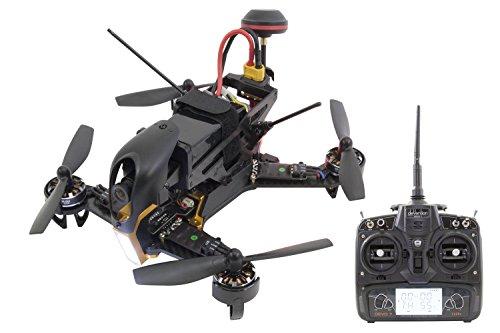 XciteRC 15003900 - FPV Racing Quadrocopter F210 RTF mit Sony HD Kamera, OSD, Akku, Ladegerät und Devo 7 Fernsteuerung, weiß