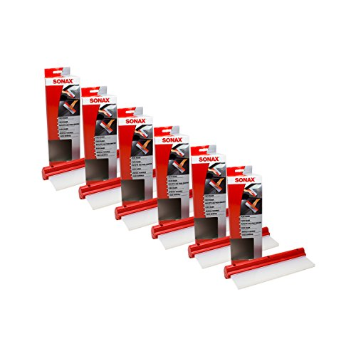 Preisvergleich Produktbild 6x SONAX 04174000 FlexiBlade Wischer Wasser Abzieher Silikon 1 Stück