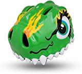 West Biking Toddler Kids Helmet Ultralight Jurassic Dinosaur Cartoon Children Helmets for Scooter, Bike, Roller-skating