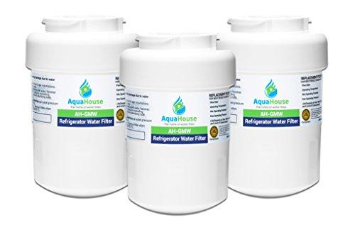 3x AH-GMW kompatibel für General Electric GE Wasserfilter SmartWater MWF GWF, Sears, Kenmore, Hotpoint Kühlschrank HWF, WF07 -
