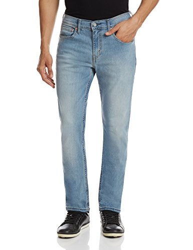 Levi's Men's Slim Fit Jeans (6901935894662_18298-0148_34W x 34L_Blue)