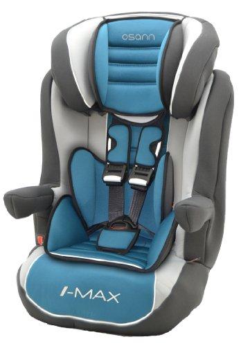 Osann Kinderautositz i - max SP Agora Petrol türkis blau grün, 9 bis 36 kg, ECE Gruppe 1 / 2 / 3, von ca. 9 Monate bis 12 Jahre, mitwachsende Kopfstütze