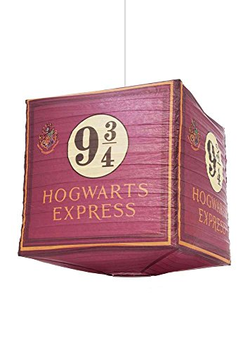 Unbekannt Harry Potter Paper Light Shade 9 3/4 Hogwarts Express Groovy Decorazioni