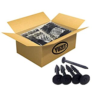 Yuzet 6«Ancla de fijación de Cubierta de Suelo Estera para Control de Hierbajos Clavos de Seguridad Membrana