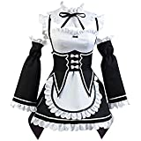Daiendi Ram Cosplay Costume Re Zero Janpan Cartoon Anime Halloween Cosplay Dress Shoes Wigs