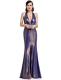 3d5214188c Ever Pretty Women s Sexy Halter V Neck Floor Length Long Evening Dresses  07206