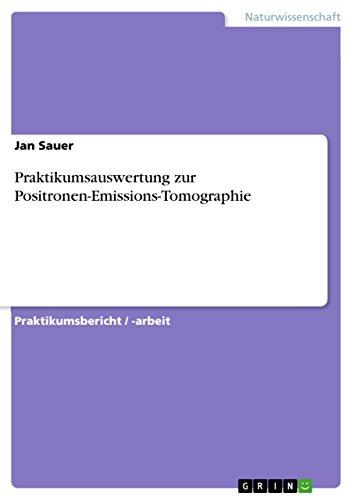Praktikumsauswertung zur Positronen-Emissions-Tomographie