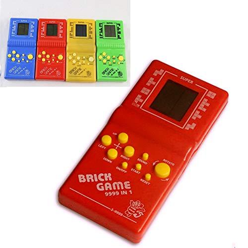 Vektenxi Tetris-Ziegelstein-Handspielmaschine, klassischer Retro- Videospiel-Spieler der LCD-elektronischen Spiel-Konsole scherzt Spielwaren Geschenk gelegentliches