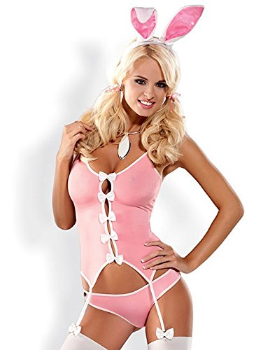 Preisvergleich Produktbild Bunny Suit Kostüm - sexy Hasenkostüm von Obsessive (L/XL)