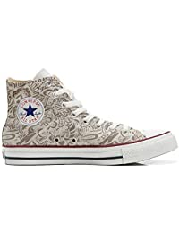 mys Converse All Star Customized, Sneaker Unisex, printed Italian style Damask Paisley