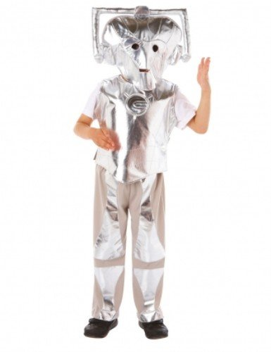 Doctor Who Cyberman Costume (3 - 5 Years)