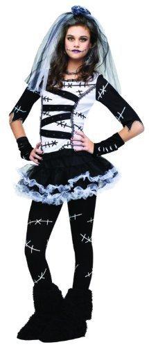 Kost-me f-r alle Gelegenheiten FW121323TN Monster Bride Teen 0-9 (Teen Party Monster Kostüm)
