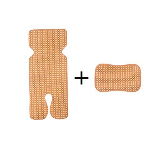 Sitzpolster Für Kinderwagen, Atmungsaktives Einlagekissen | Baby Kühl Halten, Sitzbezug Sauber - Größe 75x33 Cm (Air Sitzpolster)