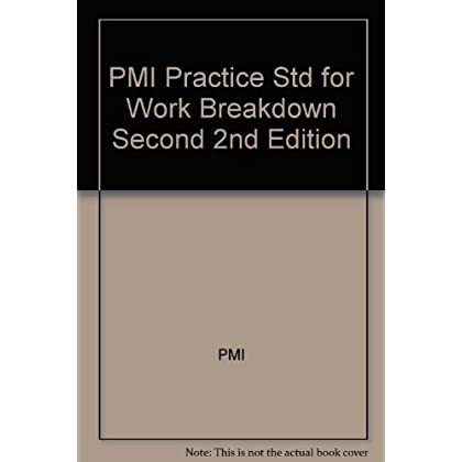 PMI Practice Std for Work Breakdown Second 2nd Edition
