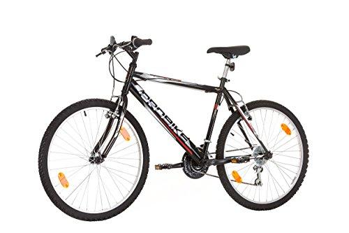 "26 ""pollici, CoollooK, PROBIKE, Mountain bike femminile, Hardtail Cornice, 18 velocità, Shimano, Cerchi Mach 1, Bianco-Turchese …"