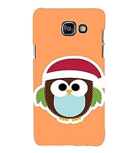 EPICCASE Cute Bird Face Mobile Back Case Cover For Samsung Galaxy A3 (2016) (Designer Case)