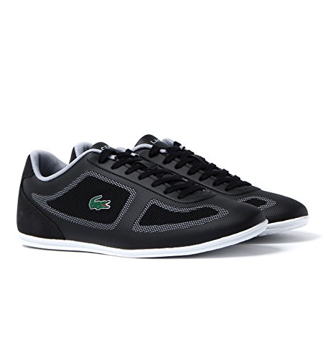 Lacoste Mens Misano Evo 117 1 Cam Trainers in Black
