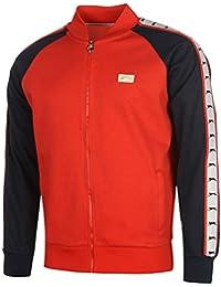 Slazenger Herren Baseball Retro Trainingsjacke Sweatjacke Jacke Taschen Baumwolle