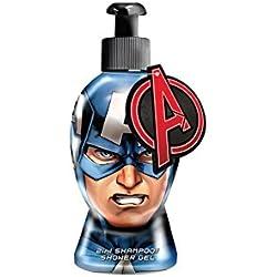 Avengers - Marvel Capitán América 2in1 Gel / Champú para ducha - 300 ml