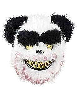 Boland 72214 - Máscara Facial con diseño de Oso Panda, Color Blanco y Negro