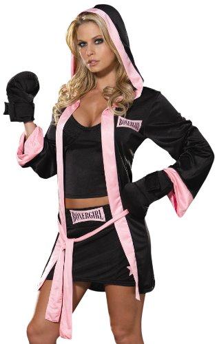 César 3760M - Disfraz de boxeadora para mujer (talla 38)