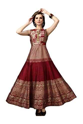 Women\'s Multi-Coloured Partywear Wedding Semistitched Gown